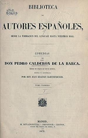 Biblioteca de autores españoles, desde la formacion