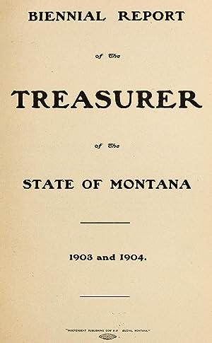Biennial Report State Treasurer     - AbeBooks