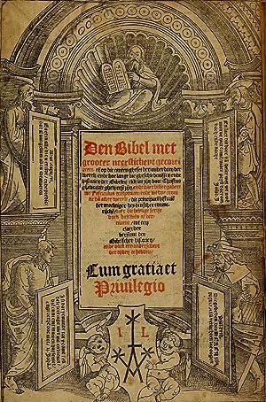 Den Bibel, met grooter neersticheyt gecorrigeert : Liesvelt, Jacob van,