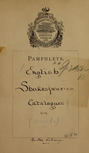 Catalogue of an extremely curious, highly interesting: Puttick and Simpson,Barton,