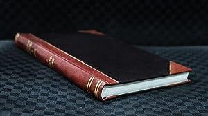 Obras [Reprint] Volume: 1 (1898)[Leatherbound]: Jose Fernando Ramirez