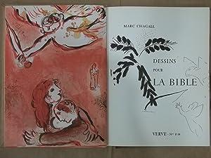 Dessins pour la Bible. Verve - Nos.: Chagall, Marc: