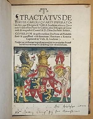 Tractatus de Termis Caroli quarti Imperatoris, sitis,: Bayer [hier Payer],