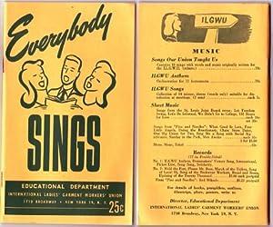 Everybody Sings.: Educational Department.