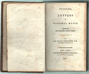 Letters on Natural Magic / Addressed to Sir Walter Scott.: Brewster, David.