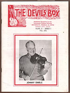 The Devil's Box, Volume 25 Number 3 (Johnny Gimble cover).: Davis, Stephen F, editor; ...