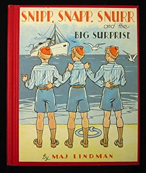 Snipp, Snapp, and Snurr and the Big Surprise.: Lindman, Maj