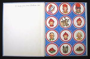 Snipp, Snapp, Snurr and the Reindeer.: Lindman, Maj