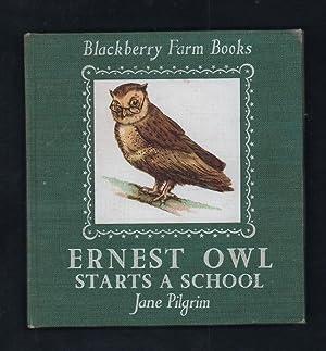 Ernest Owl Starts a School.: Pilgrim, Jane.