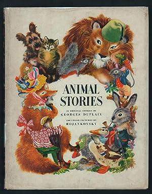 Animal Stories,: Duplaix, Georges.