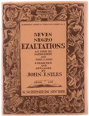 Seven Negro Exaltations / as sung by: Niles, John Jacob,