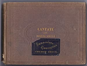 The Cantate: Morning Service.: Werner, Anthony.