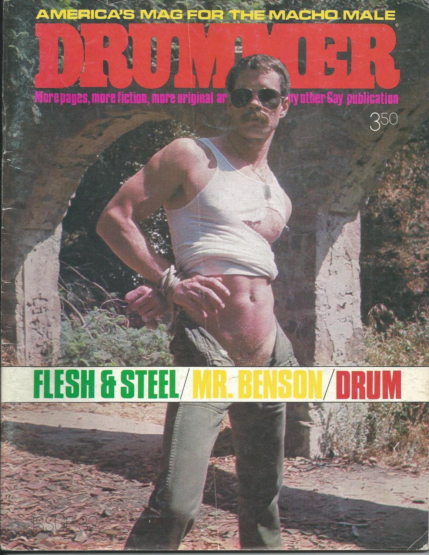 DRUMMER America's Mag for the Macho Male. VOLUME 4 - 32: Robert Payne [editor]