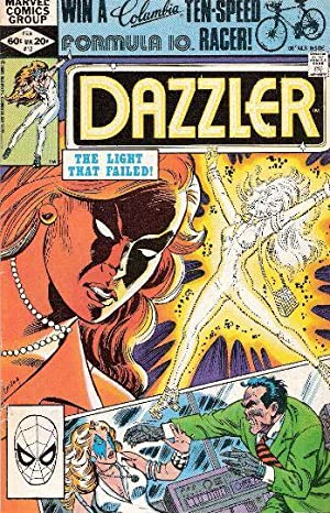 Dazzler Issue # 12, The light that Failed!: Fingeroth,