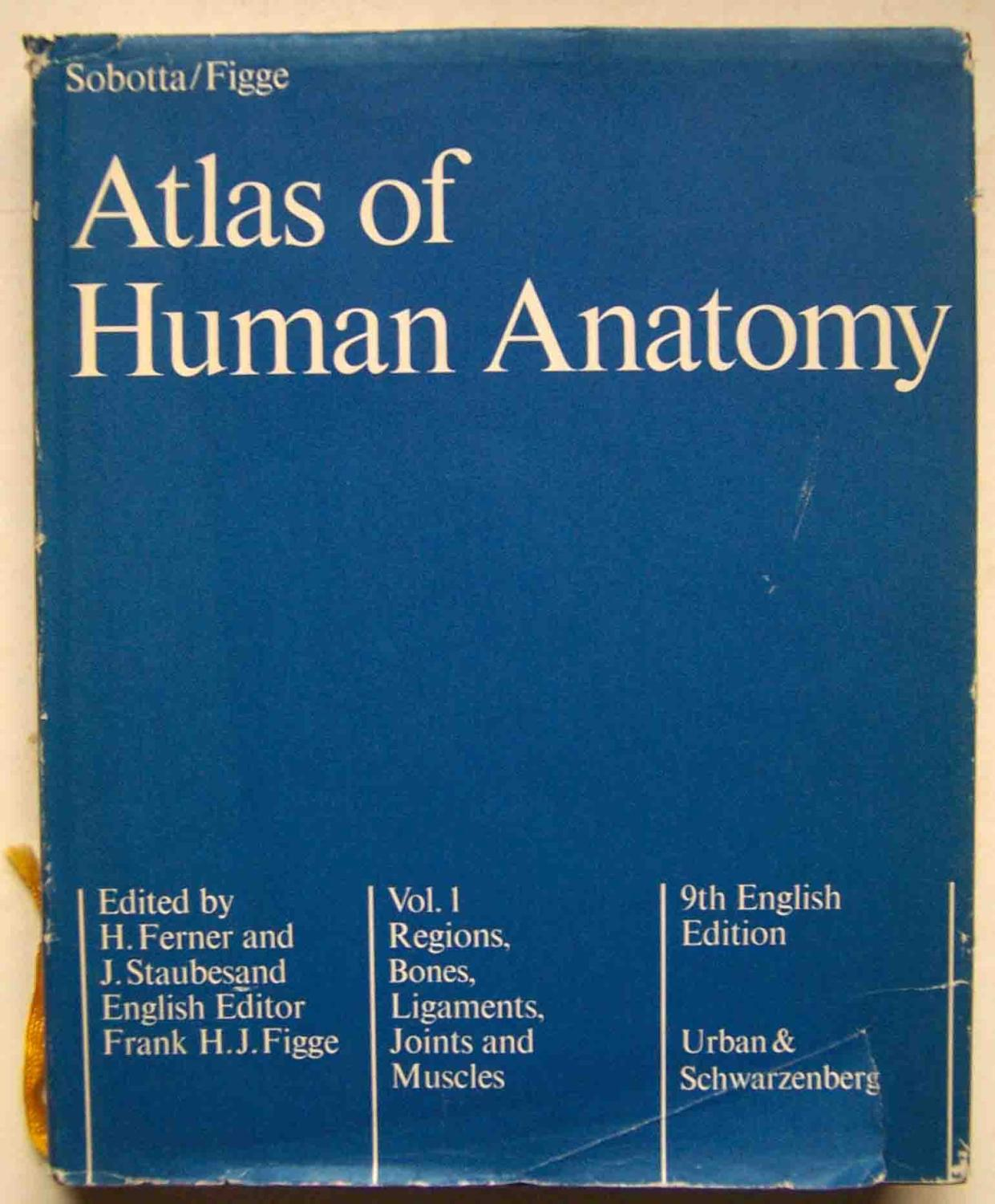 Atlas Of Human Anatomy Regions Bones Ligaments Joints And