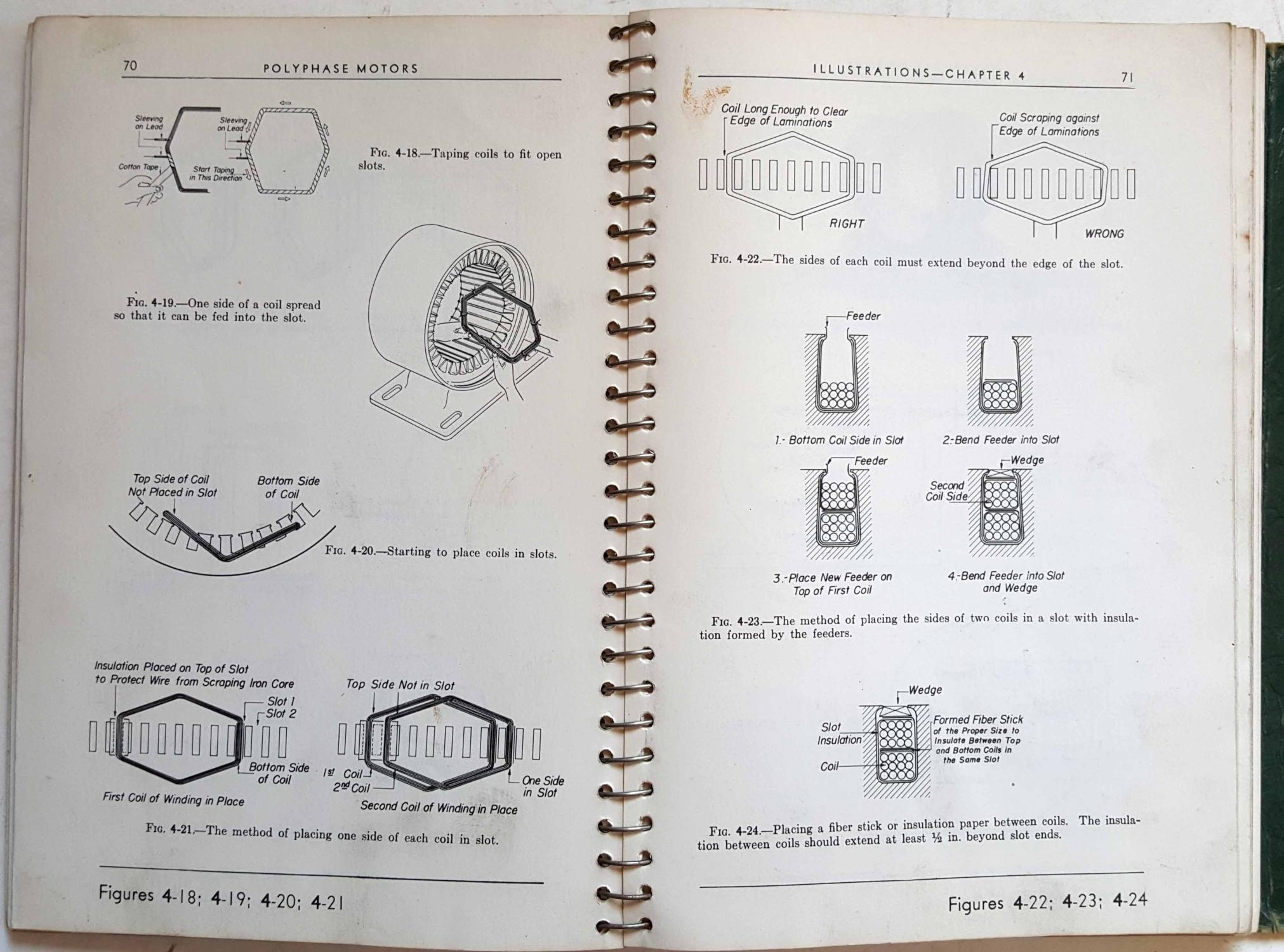 Electric Motor Repair: Illustrations and Study Questions, Text and ...