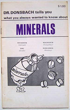Dr. Donsbach Tells You What You Always Wanted to Know About Minerals