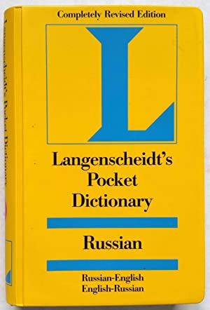 Langenscheidt's Pocket Dictionary: Russian (Russian-English/English-Russian): Langenscheidt Editorial Staff