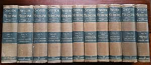A System of Medicine by Many Writers: Complete Set of 9 Volumes in 11 Books