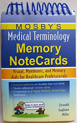 Mosby's Medical Terminology Memory NoteCards: Visual, Mnemonic, and Memory Aids for Healthcare Pr...