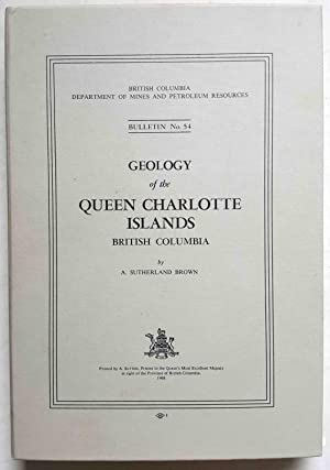 Geology of the Queen Charlotte Islands, British Columbia (Bulletin No. 54)