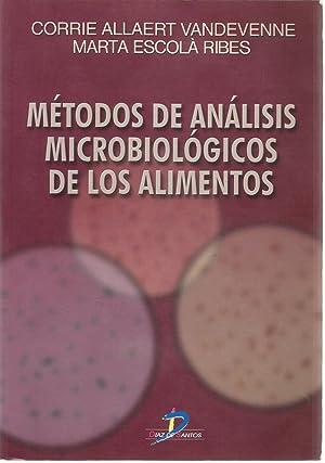 Métodos de análisis microbiológicos de los alimentos: Allaert Vandevenne, Corrie;