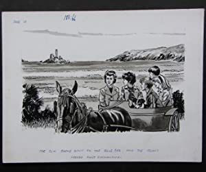 Original Illustration for Page 14 of the: Blyton, Enid