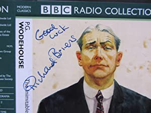 Signed By Richard Briers (Bertie Wooster), Cassette: Richard Briers, P.
