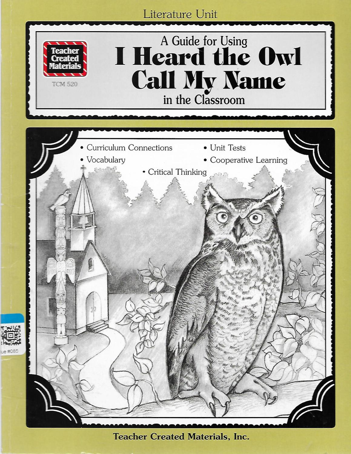 response to i heard the owl 2007 free-response questions the college board: connecting students to college success  a barred owl the warping night air having brought the boom of an owl's voice into her darkened room, we tell the wakened child that all she heard was an odd question from a.