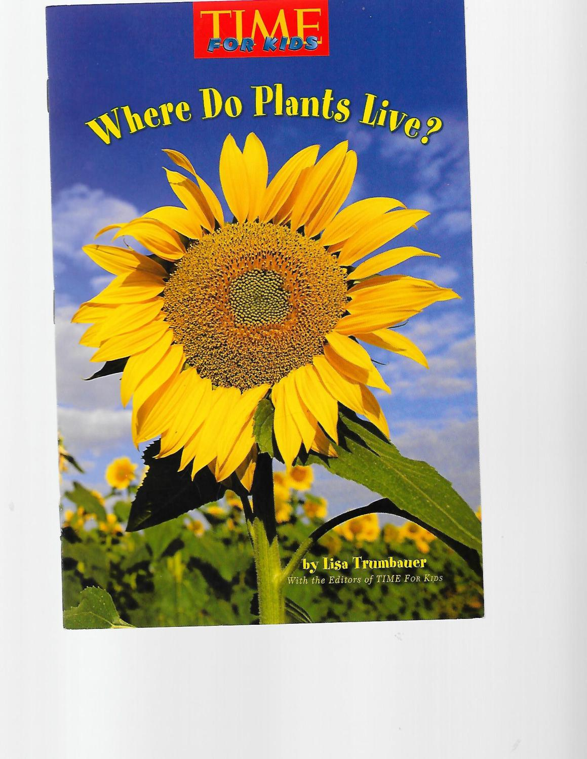 Where Do Plants Live Time For Kids