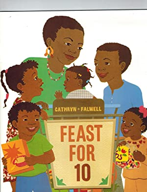 Houghton Mifflin Mathmatics: Lit Library Level 1 Feast For Ten (Hm Math 2005): HOUGHTON MIFFLIN