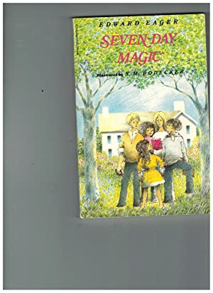 Seven-Day Magic (A Voyager/HBJ Book): Edward Eager