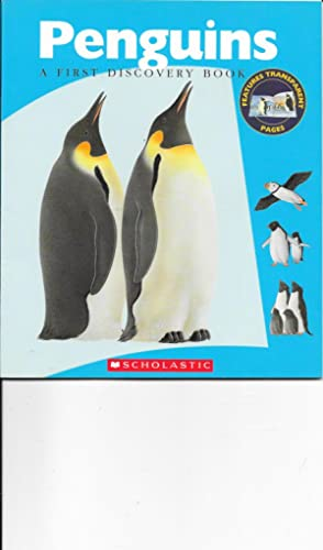 Penguins (A First Discovery Book): Gallimard Jeunesse; Translator-J. Elizab