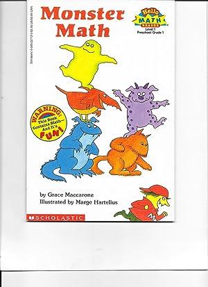 Monster Math (Scholastic Reader, Level 1): Grace Maccarone