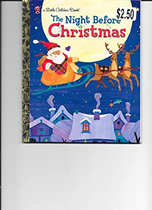 The Night Before Christmas (Little Golden Book): Moore, Clement C.