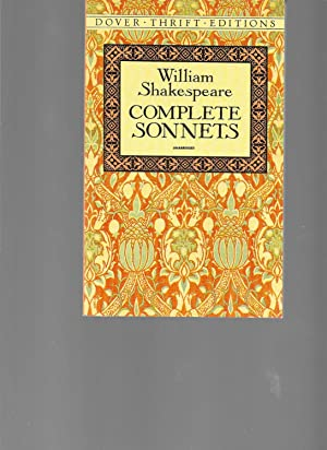 Complete Sonnets (Dover Thrift Editions): William Shakespeare
