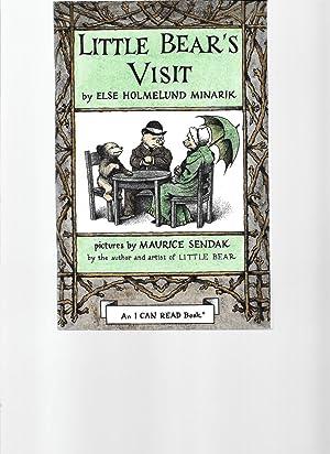Little Bear's Visit: MINARIK, Else Holmelund