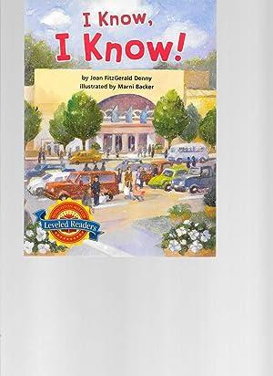 I Know, I Know!: Joan FitzGerald Denny