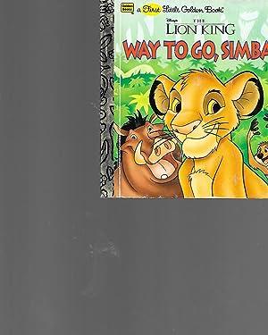 Way to Go, Simba! Disney's the Lion: Braybrooks, Ann