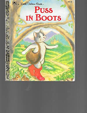 Puss in Boots (Little Golden Book): Golden Books