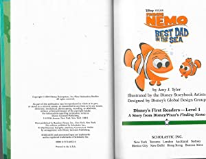 Finding Nemo Best Dad in the Sea (Disney's Fist Readers, Level 1): Amy J. Carter
