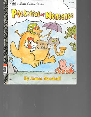 Pocketful of Nonsense (Little Golden Book): Marshall, James