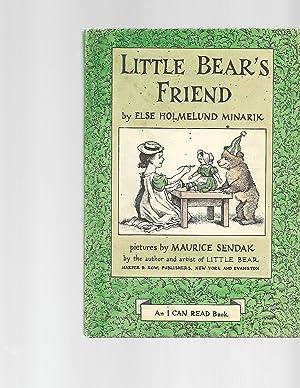 Little Bear's Friend: Else Holmelund Minarik