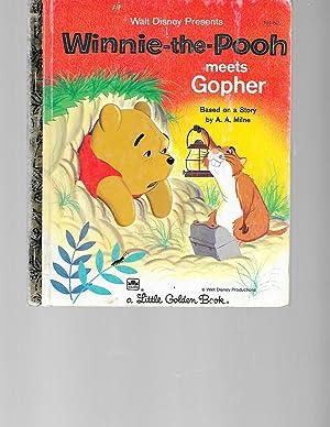 Winnie the Pooh Meets Gopher (Winnie the: Milne, A A