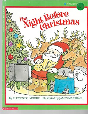 Night Before Christmas (Blue Ribbon Book): Clement C. Moore