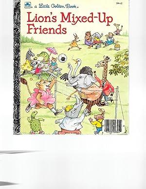 Lion's Mixed-Up Friends (A Little Golden Book): Hammond, Lucille