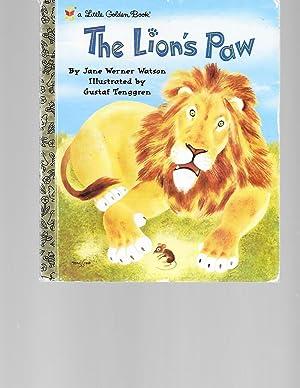 The Lion's Paw (Little Golden Book): Werner Watson, Jane