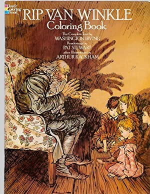 Rip Van Winkle Coloring Book (Dover Classic: Irving, W.; Rackham,