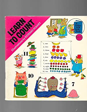 Learn to Count (A Golden Look-Look Book): Richard Scarry