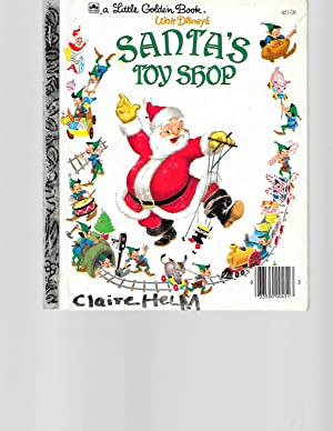 Santa's Toy Shop (Little Golden Book): Al Dempster